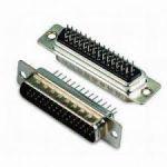 SUB-D Print(3row) 44P MALE PCB thin pins High Density
