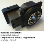 DCNC-HSR-F85-N23B8-I30 Hollow Shaft Reducer 1:30 NEMA23