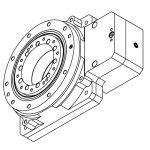 DCNC-HSR-F230-F100B22-I10 Hollow Shaft Reducer