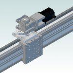 DCNC Router Bridge-axis R&P R=1290mm DIY