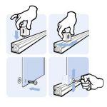 MayTec Panel Holder Block for E-slot (profile group 40) M6