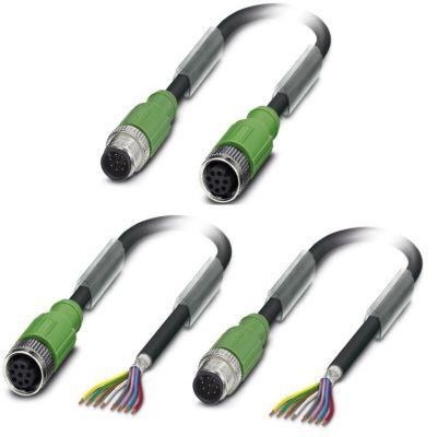 m12 8pole cable assemblies