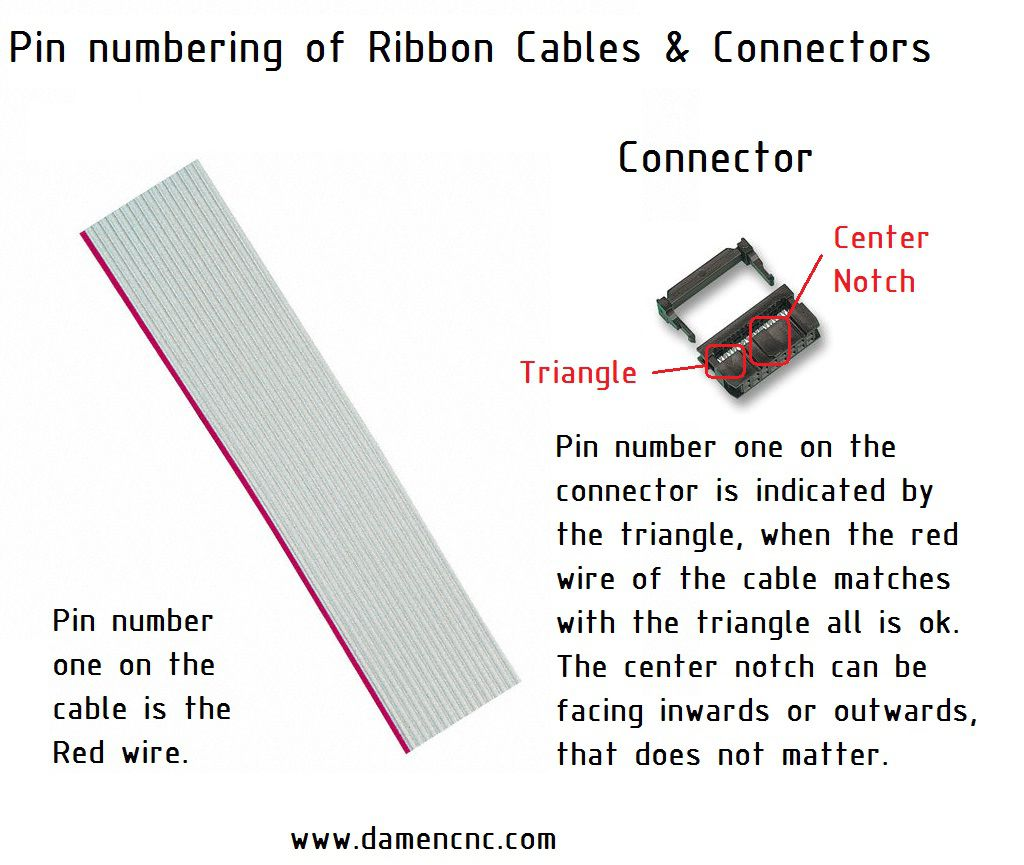 10 pole ribbon female cable connector