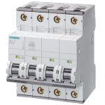 10Amp 3P+N Circuit Breaker Siemens 5SY4610-7