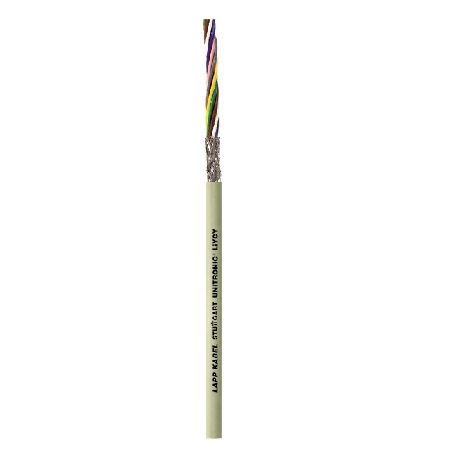 afbeelding 12701 shielded signal cable 4 x 050 mm liycyo 4x050