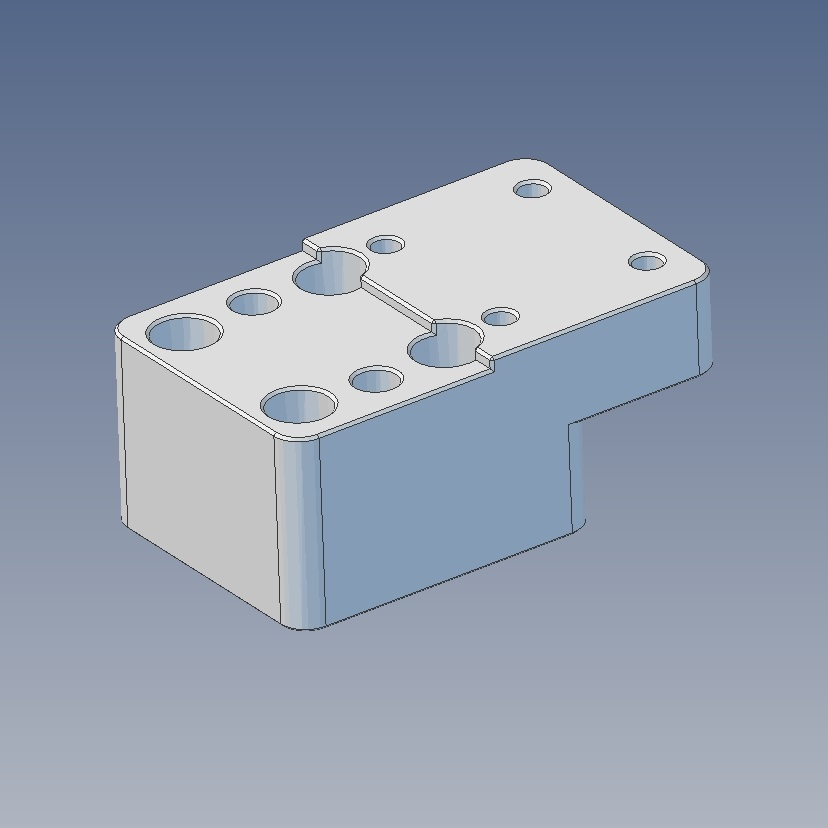 13071 nutspacer for lsm 80x1608e