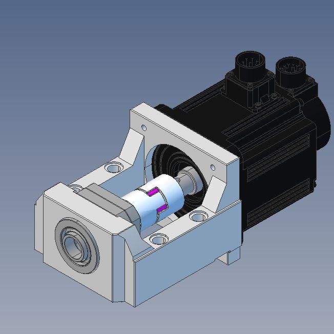 130x130 servo motor bracket mbb25lg
