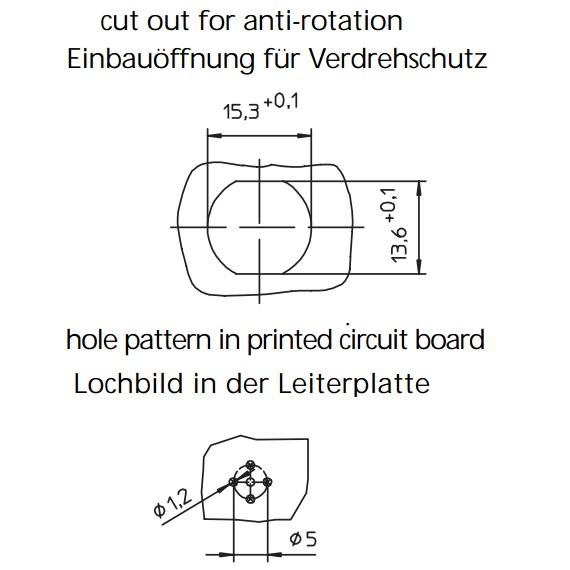 13923 lumberg rshl s 55 m12 male connector panel cutout