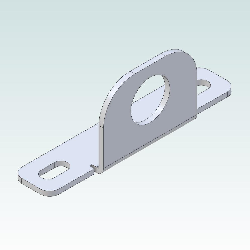 14831 damencnc angle bracket for m12 sensors render