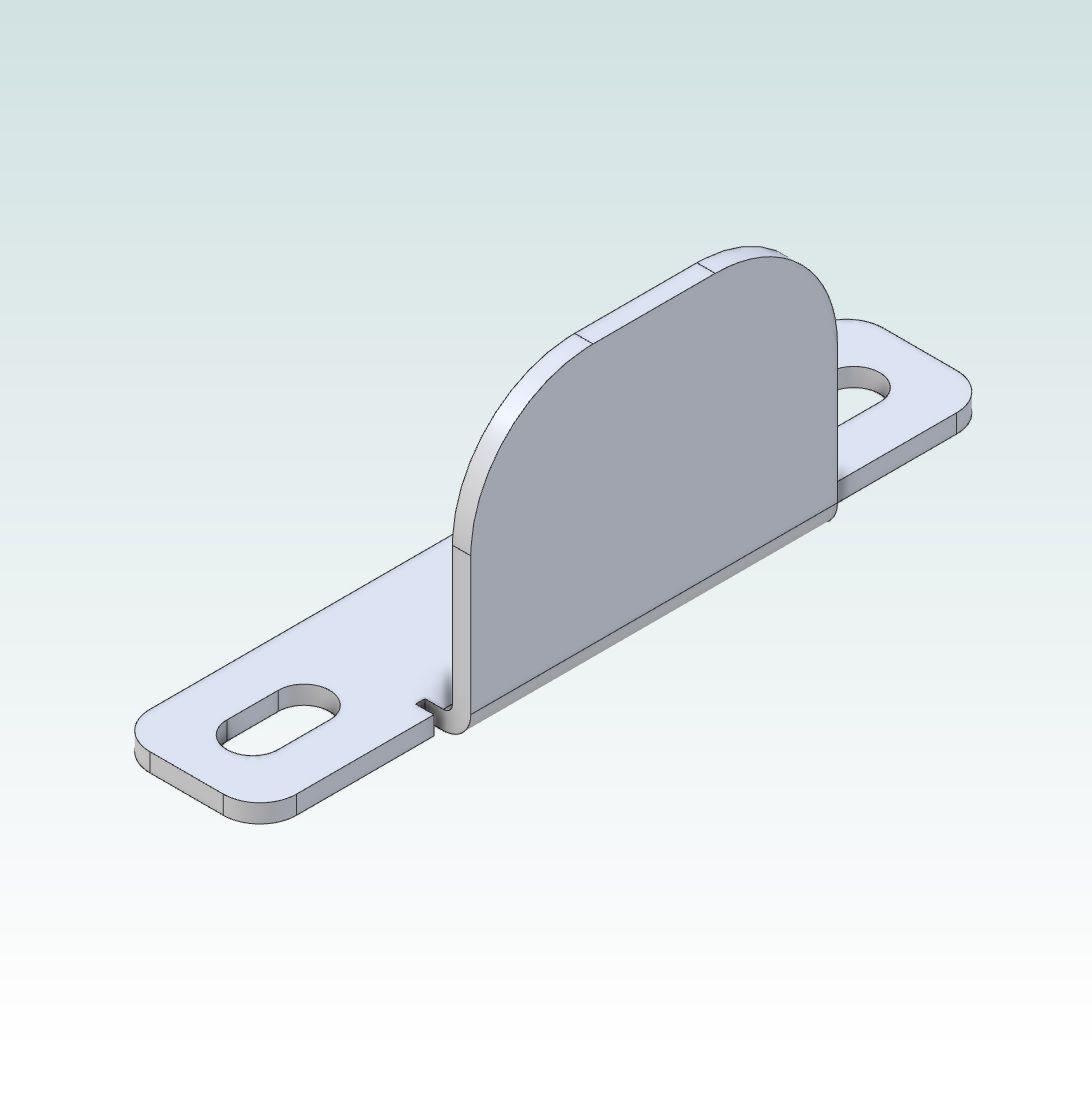 14841 damencnc angle detection bracket for m12 sensors render
