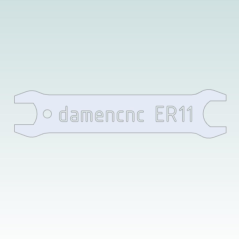 16281 wrench for er nuts er 11 wrench 14mm
