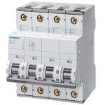16Amp 3P+N Circuit Breaker Siemens 5SY4616-7