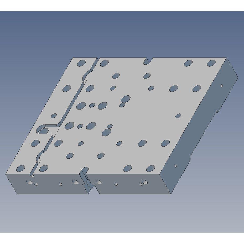16mm ls module parts 40x160l slideplate v3 for 16mm ballscrew