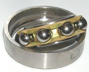 1781 17x40x10 single row angular contact bearing