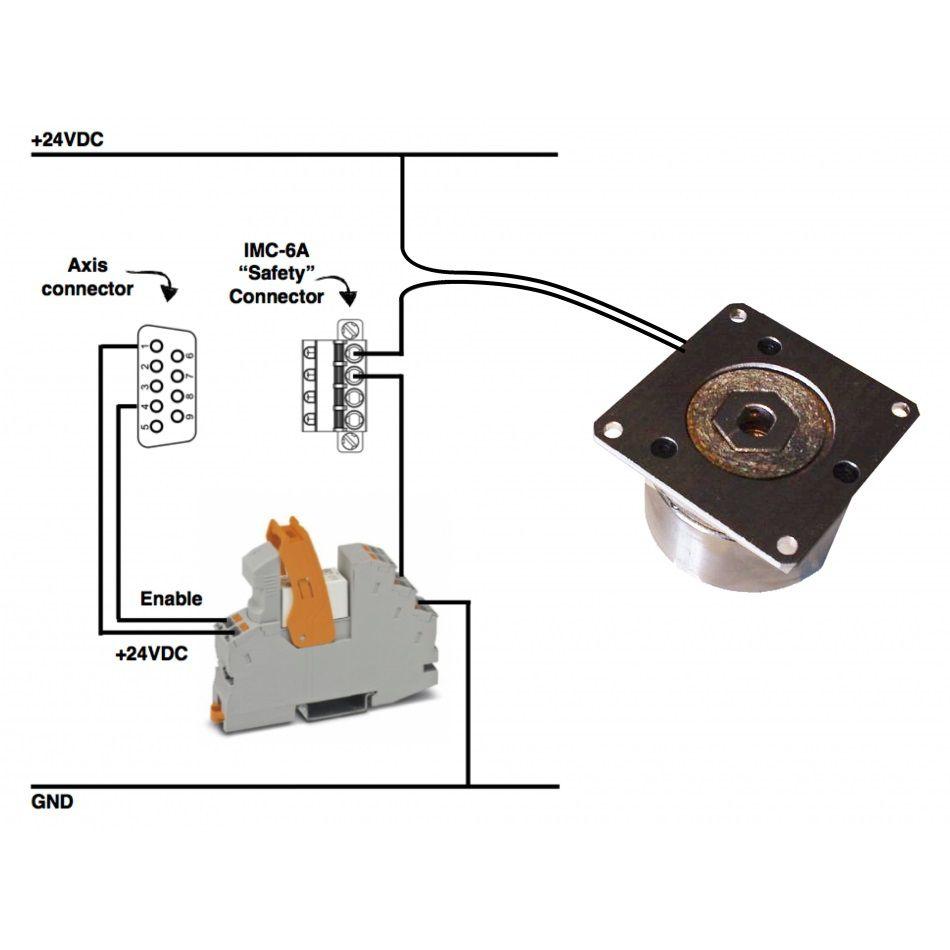 29nm brake for stepper or servo motor