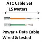 ATC Cable set 15 meters