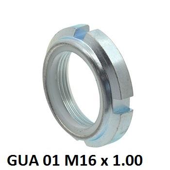 22611 gua 01 m16 x 100 nylon insert locking nuts