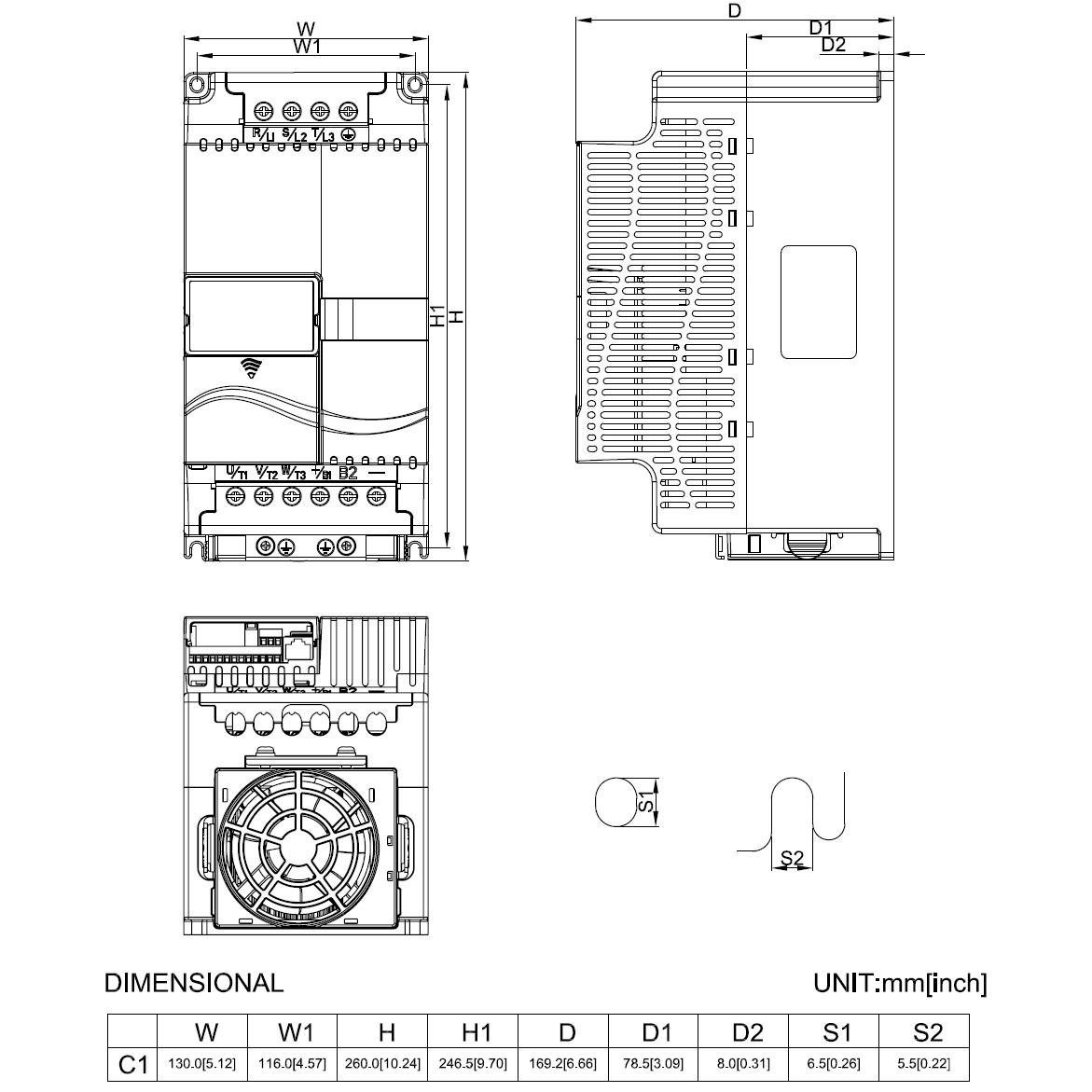 22744 vfd110e43a 400v400v 11kw keypad dimensions