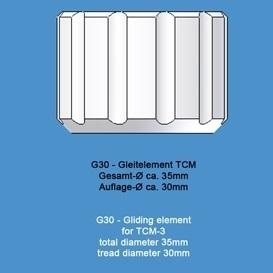 22811 ecocam g30 big diameter gliding element