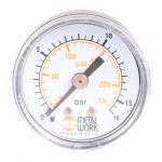 """Manometer D40 0-16Bar 1/8"""" A.A."""