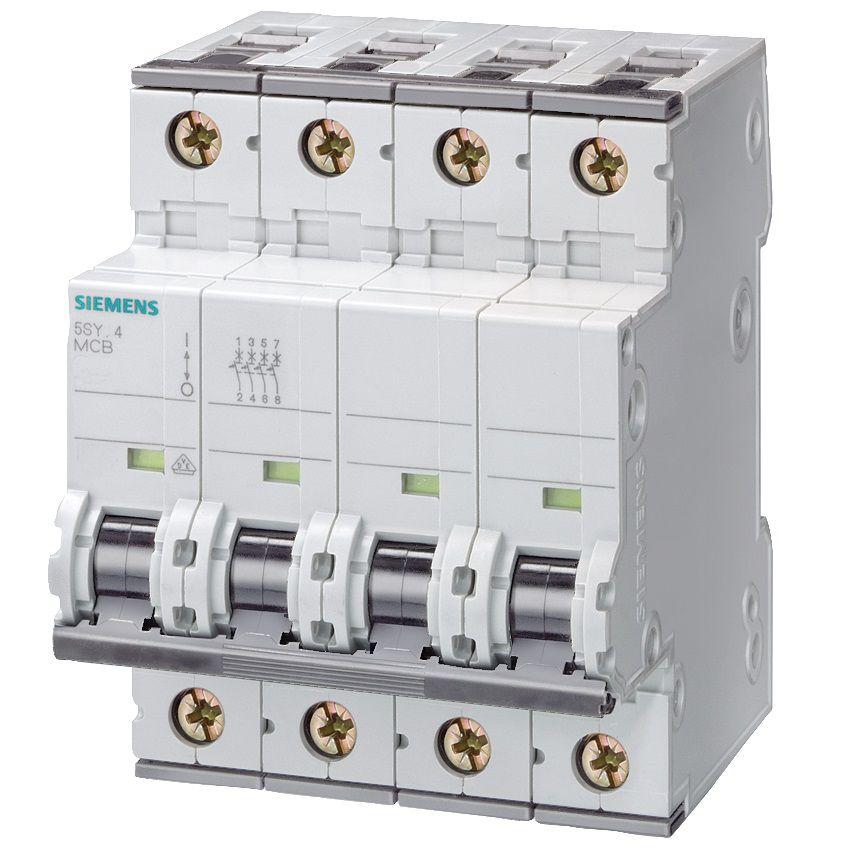 25amp 3pn circuit breaker siemens 5sy46257