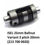 25mm Ballnut Variant 3 pitch 20mm (213 700 0020)