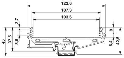 26862 profile um108 2907525 pcb pricem dimensions
