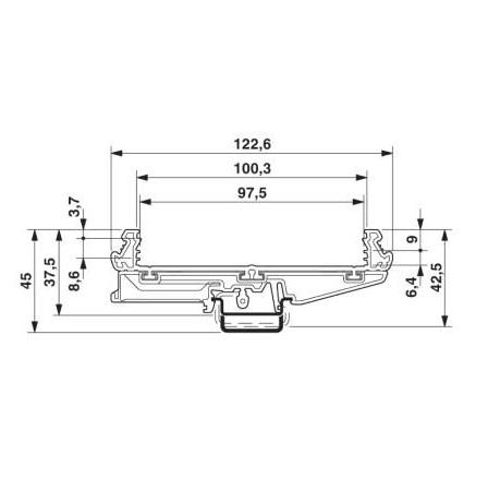 26952 profile um 100 2914563 pcb pricem extrusion dimensions
