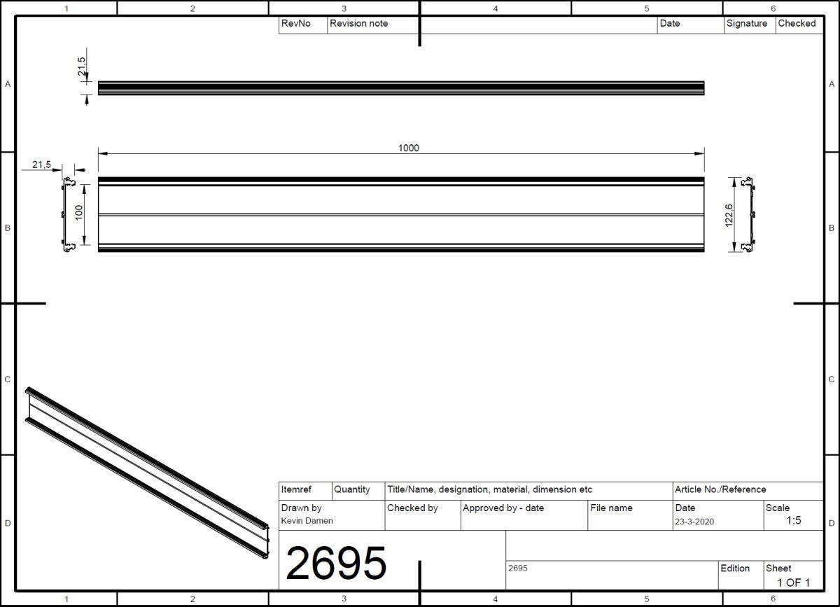 26953 profile um 100 2914563 pcb pricem extrusion 2d dimensions