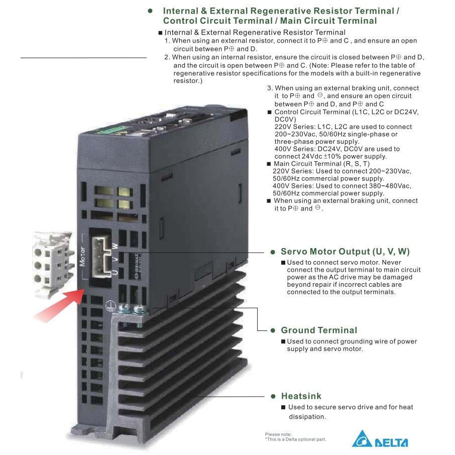 29403delta servo drive asda2m connector overview 2