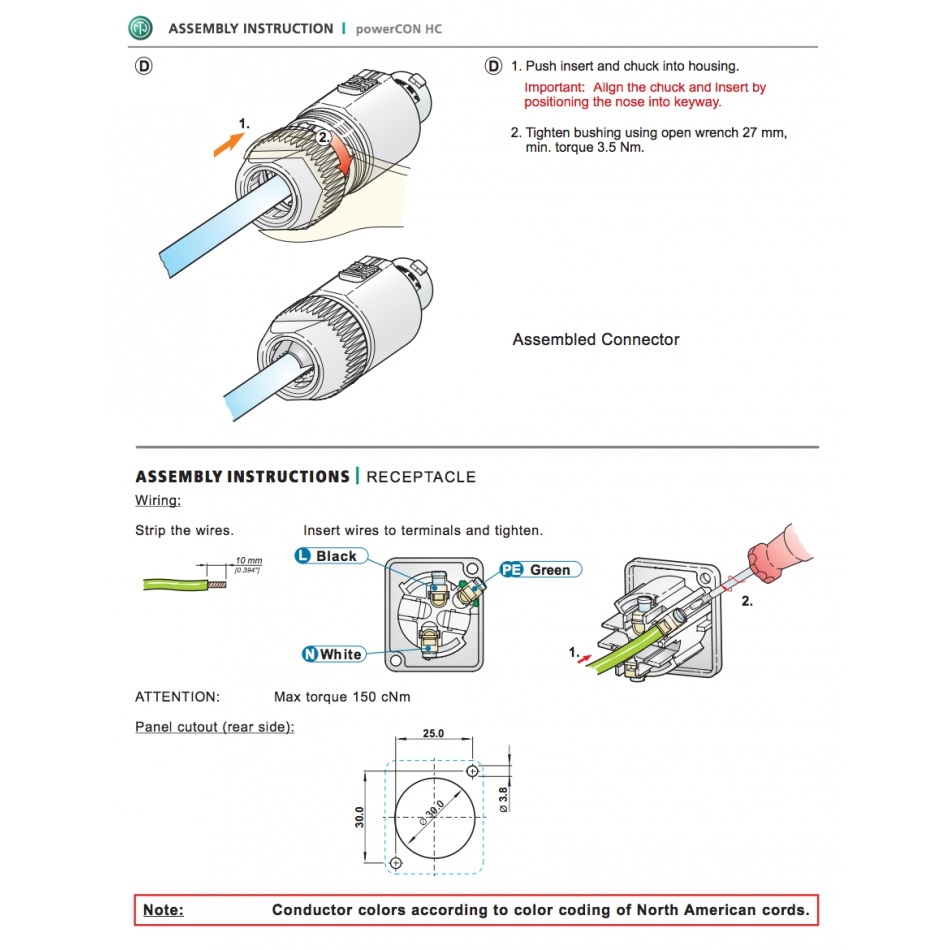 Powercon wiring diagram library of wiring diagram powercon 32 a cable connector damencnc b v rh damencnc com neutrik powercon wiring diagram powercon wiring asfbconference2016 Choice Image