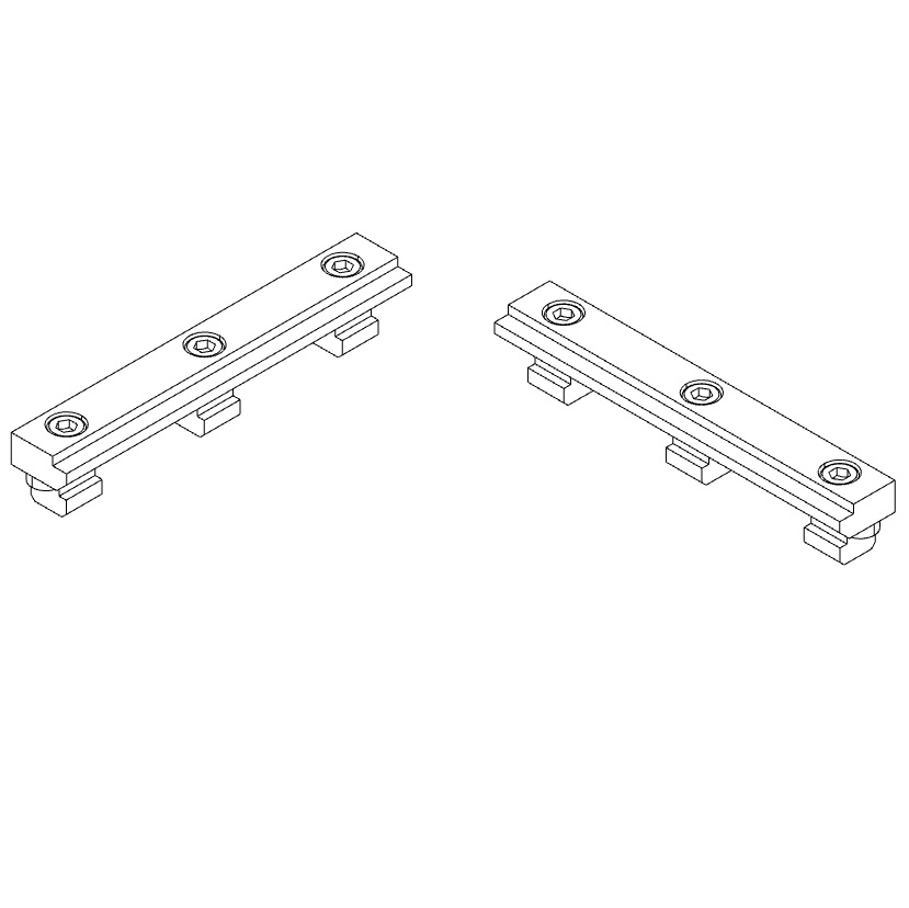 30751 isel stop rails set of 2 b20 x h10 x l125mm tnuts