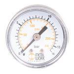 """Manometer D40 -1-0 Bar 1/8"""" A.A."""