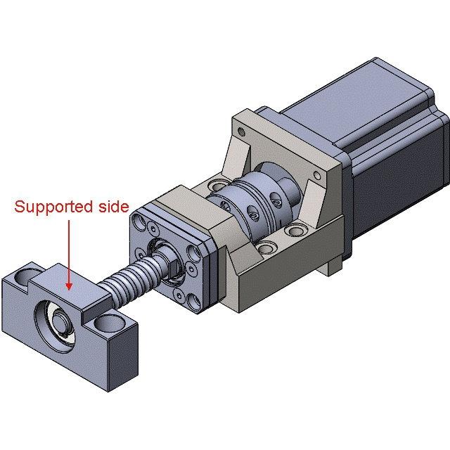 39532 nema 23 motor bracket mba10c example