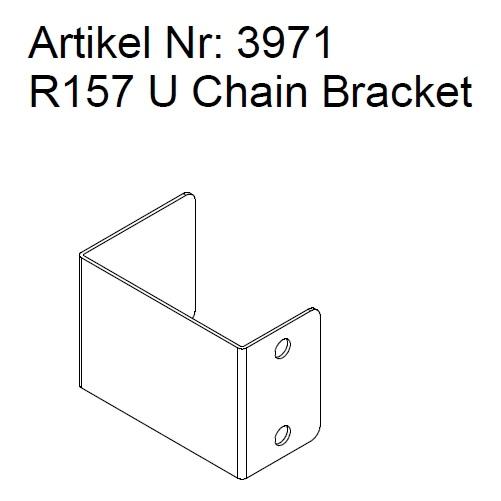 3971 r157 u chain bracket