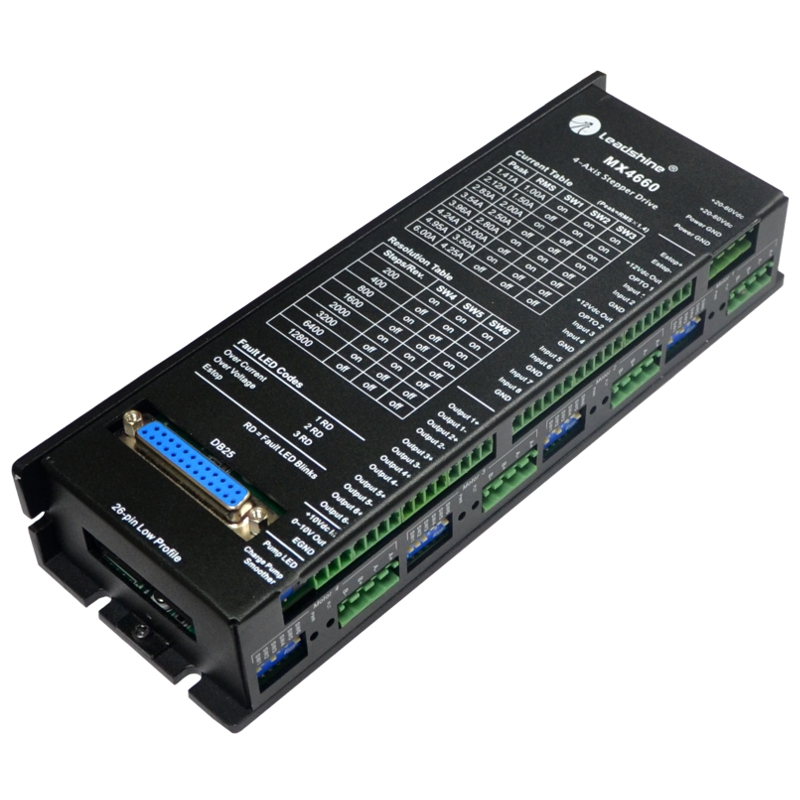 4-Axis Digital Stepper Drive MX4660 (2phase)