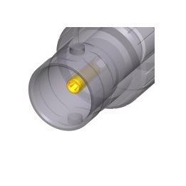 40882 neutrik nbb75 dfi bnc chassis connector gold contact