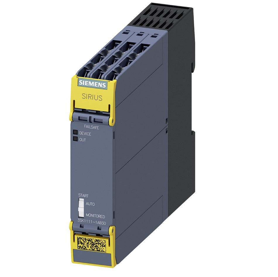 42111 siemens 3sk111112ab30 safety relay screw terminals