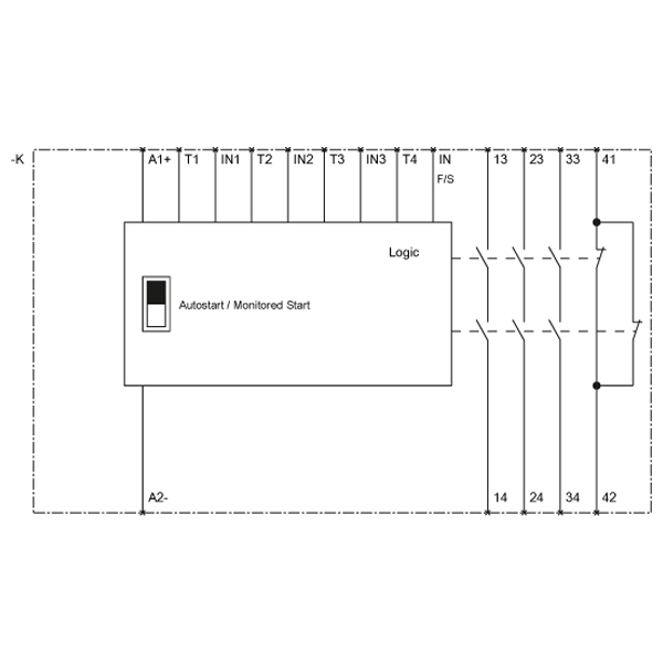 42113 siemens 3sk111112ab30 safety relay screw terminals wiring diagram