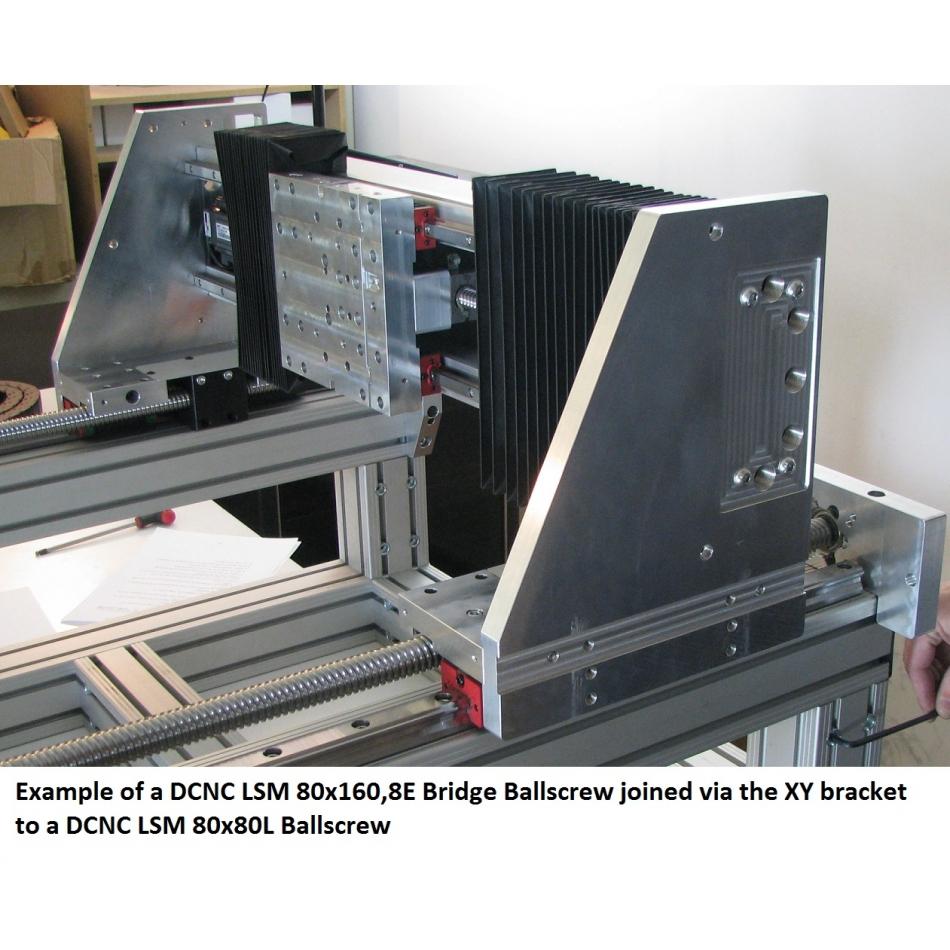 42311 dcnc router bridgeaxis ballscrew r790mm