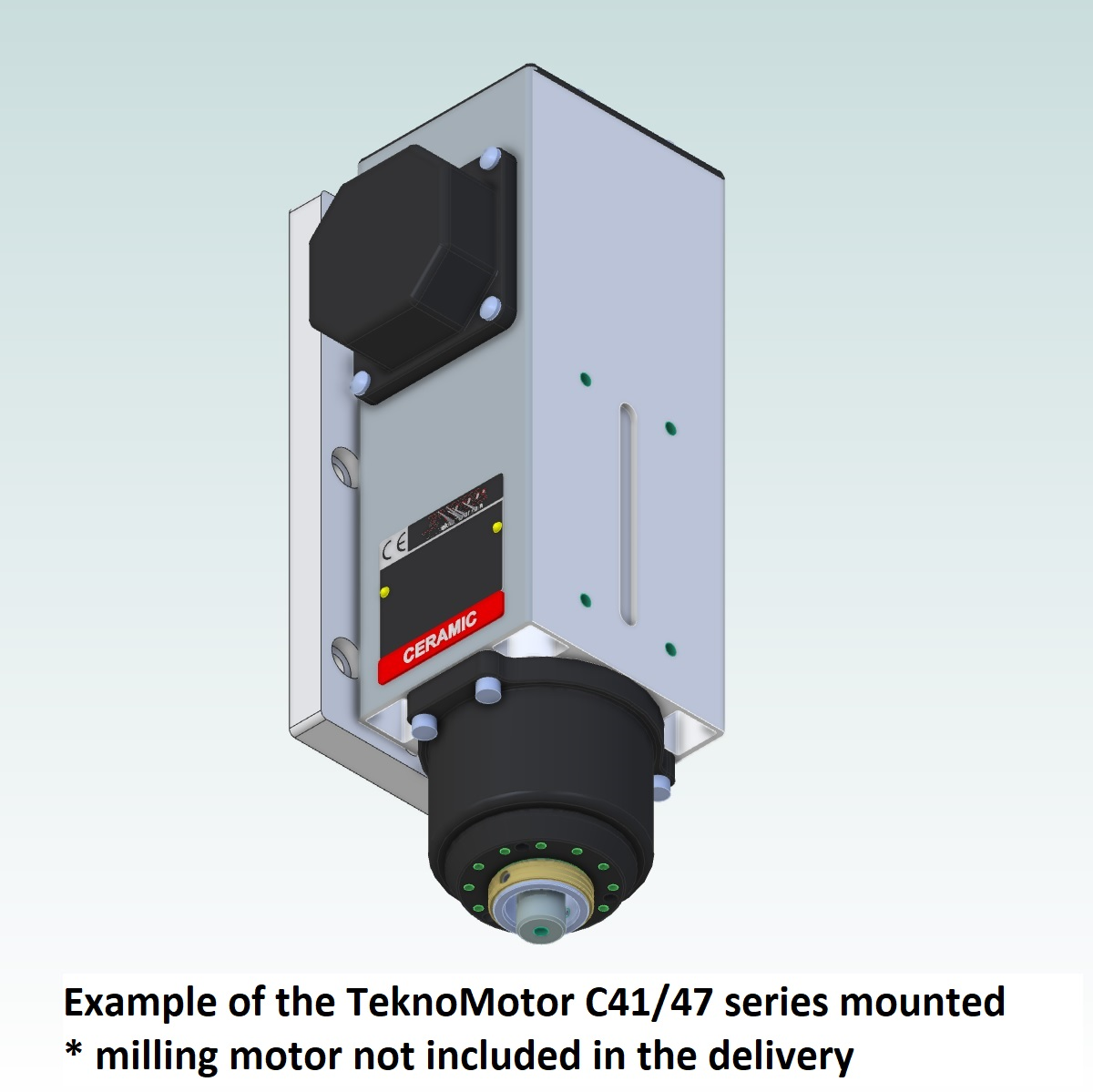 42713 teknomotor mountingplate icp4030 example with qtc mounted