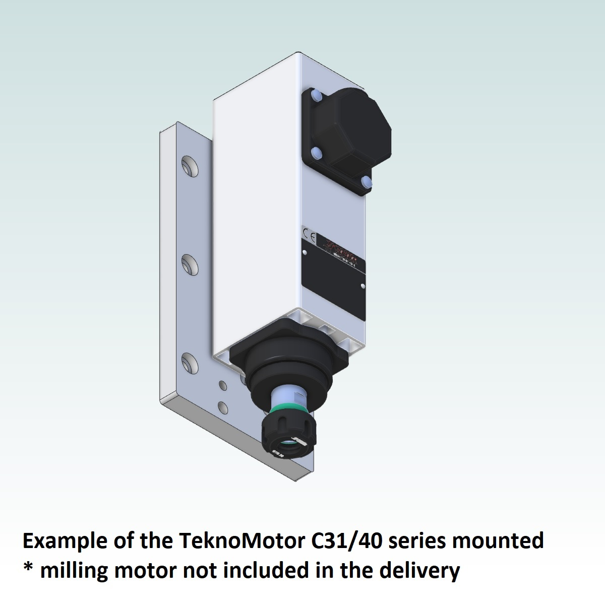 42714 teknomotor mountingplate icp4030 example with teknomotor c3140 mounted