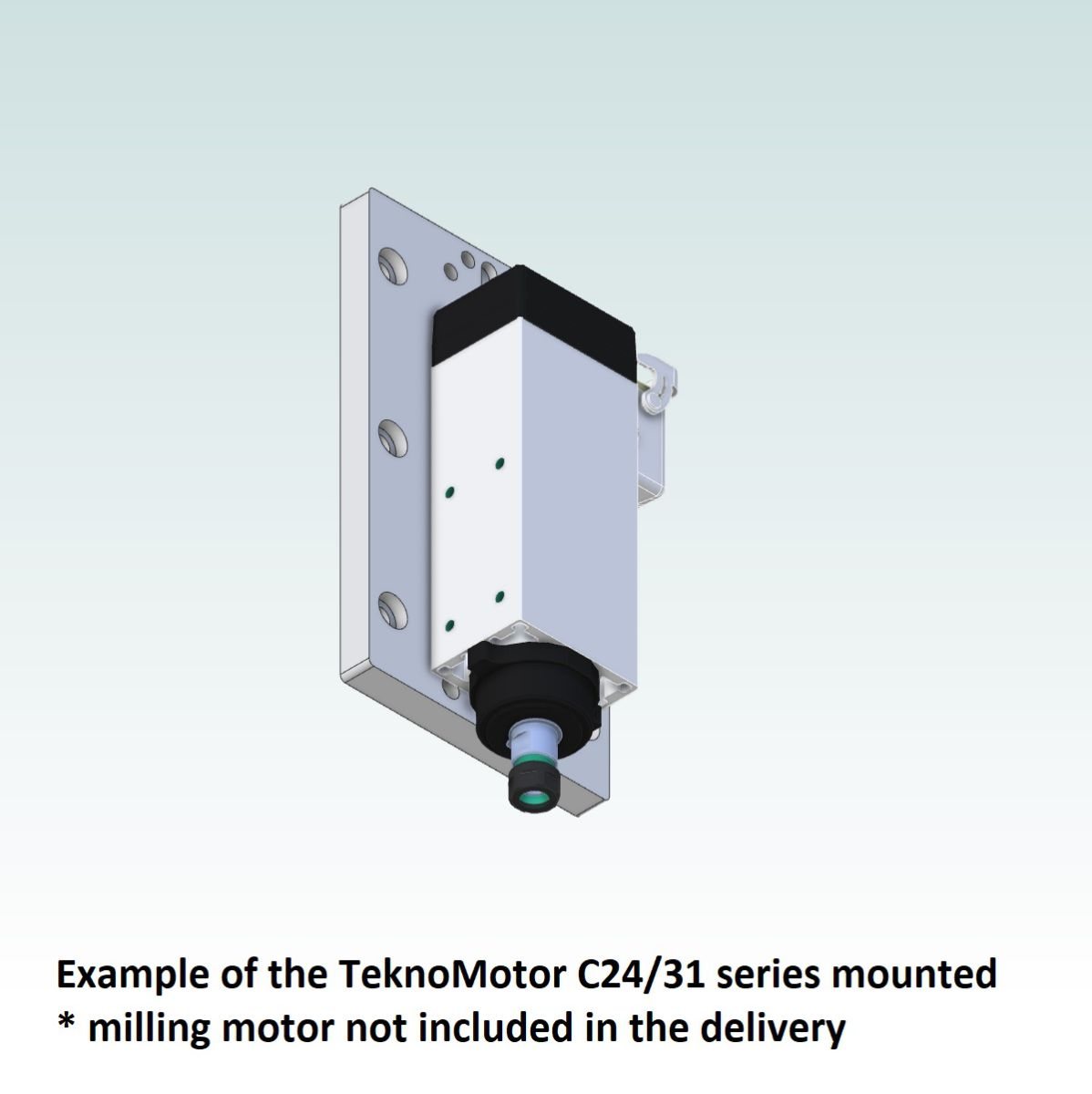 42716 teknomotor mountingplate icp4030 example with teknomotor c2431 mounted
