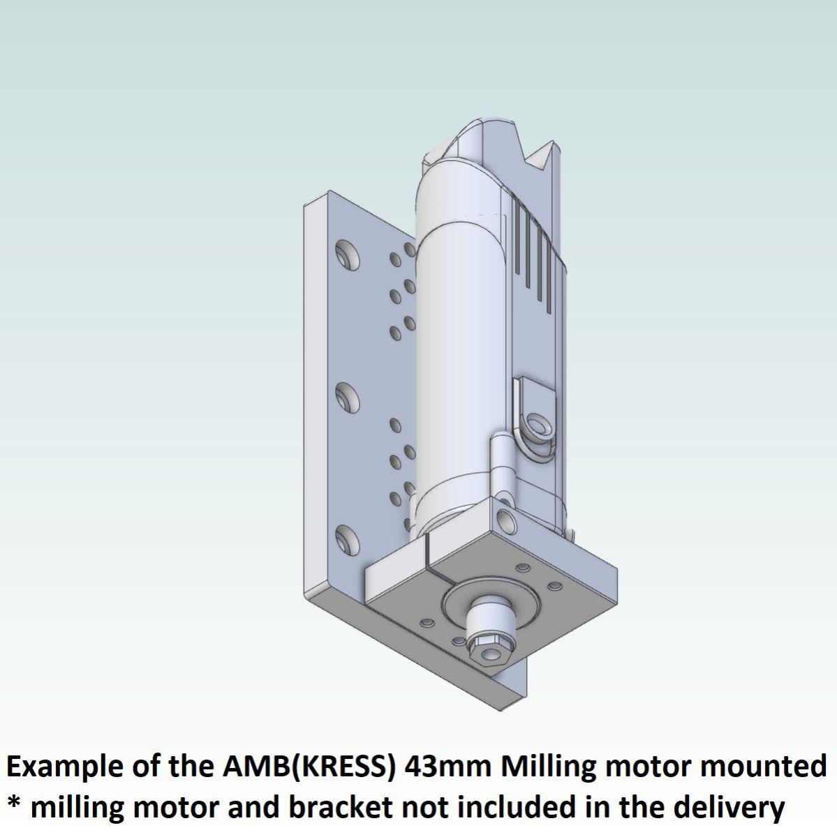 42718 teknomotor mountingplate icp4030 example with amb kress 43mm mounted