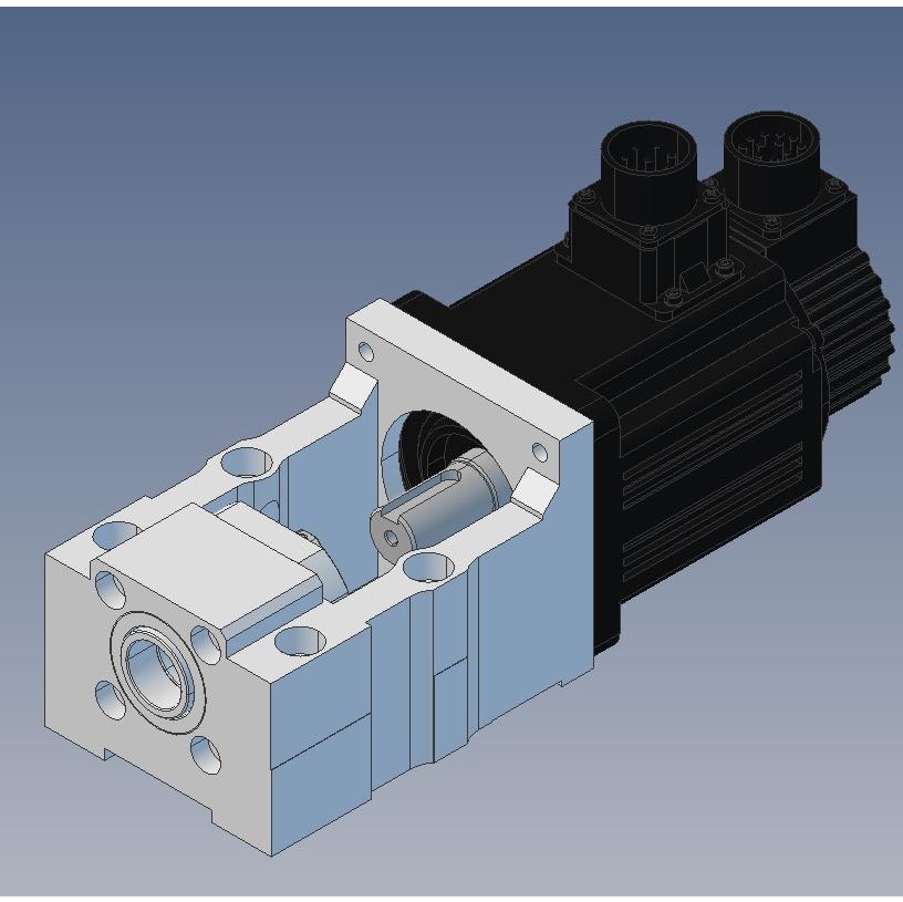 42741 100x100 servo motor bracket mbc25y