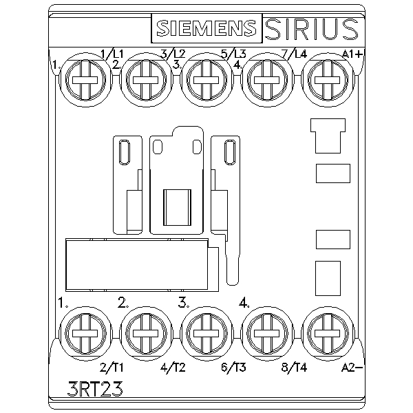 43012 siemens contactor ac4 55kw400v new type 3rt23171bb40 screw type