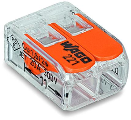 43051 wago terminal block 2 wire 221412