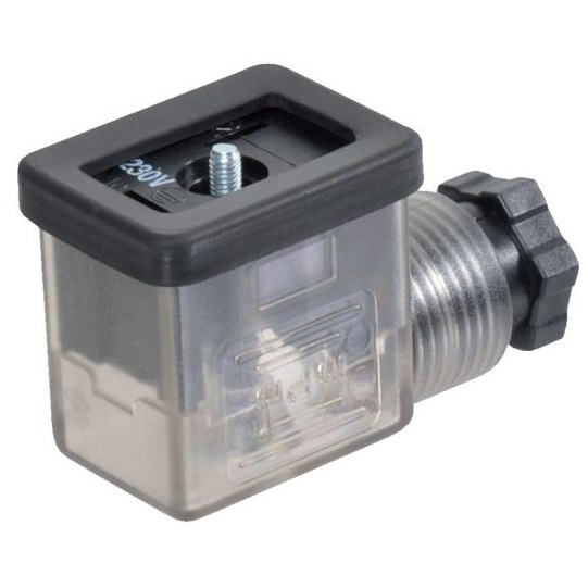 43301 w0970510014 coil connector with led 230vac