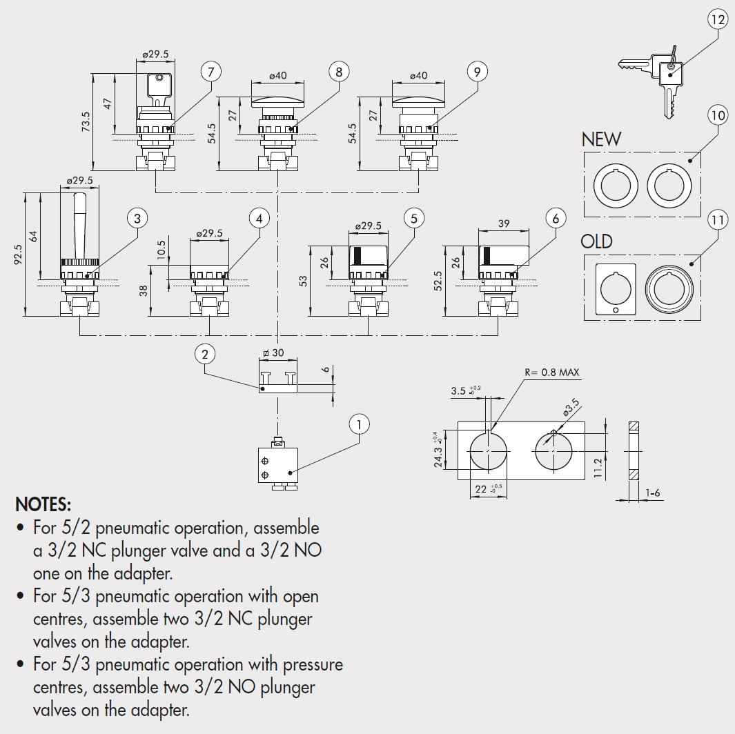 43682 0035100050 adaptor vme system overview