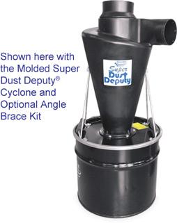43782 super dust deputy 17 gal steel drum kit example